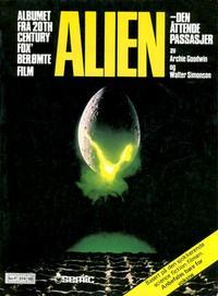 Cover Thumbnail for Alien - den åttende passasjer (Semic, 1979 series)