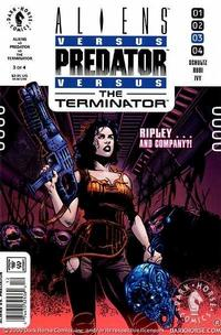 Cover Thumbnail for Aliens vs. Predator vs. The Terminator (Dark Horse, 2000 series) #3