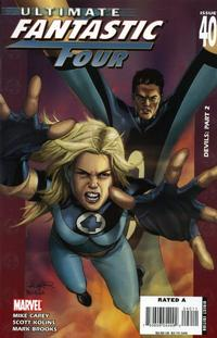Cover Thumbnail for Ultimate Fantastic Four (Marvel, 2004 series) #40