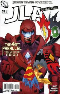 Cover for JLA: Classified (DC, 2005 series) #35