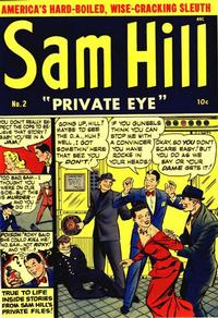 Cover Thumbnail for Sam Hill Private Eye (Archie, 1950 series) #2