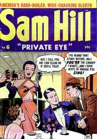 Cover Thumbnail for Sam Hill Private Eye (Archie, 1950 series) #6