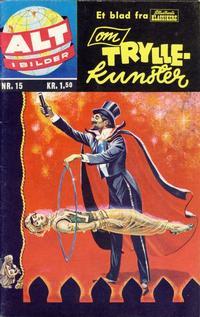 Cover Thumbnail for Alt i bilder (Illustrerte Klassikere / Williams Forlag, 1960 series) #15 - Tryllekunster