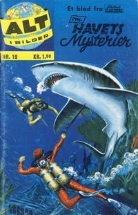 Cover Thumbnail for Alt i bilder (Illustrerte Klassikere / Williams Forlag, 1960 series) #19 - Havets mysterier