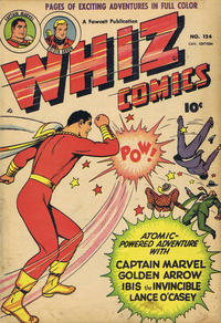 Cover Thumbnail for Whiz Comics (Derby Publishing, 1949 series) #124
