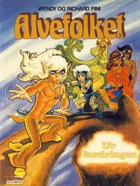Cover Thumbnail for Alvefolket (Semic, 1985 series) #3 - Utfordringen [1. opplag]