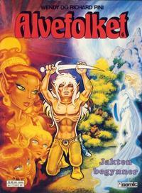 Cover Thumbnail for Alvefolket (Semic, 1985 series) #6 - Jakten begynner [1. opplag]