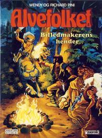 Cover Thumbnail for Alvefolket (Semic, 1985 series) #8 - Billedmakerens hender