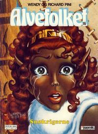 Cover Thumbnail for Alvefolket (Semic, 1985 series) #16 - Snøkrigerne