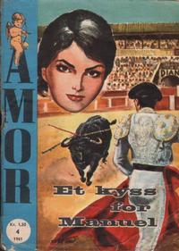 Cover Thumbnail for Amor (Serieforlaget / Se-Bladene / Stabenfeldt, 1961 series) #4/1961