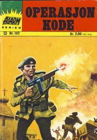 Cover Thumbnail for Alarm (Illustrerte Klassikere / Williams Forlag, 1964 series) #102