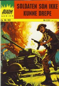 Cover Thumbnail for Alarm (Illustrerte Klassikere / Williams Forlag, 1964 series) #103