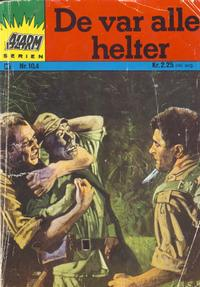 Cover Thumbnail for Alarm (Illustrerte Klassikere / Williams Forlag, 1964 series) #104
