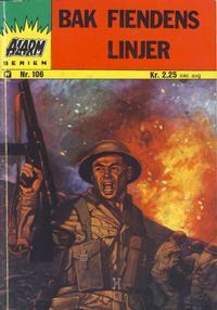 Cover Thumbnail for Alarm (Illustrerte Klassikere / Williams Forlag, 1964 series) #106