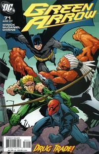 Cover Thumbnail for Green Arrow (DC, 2001 series) #71
