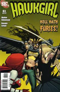 Cover Thumbnail for Hawkgirl (DC, 2006 series) #61