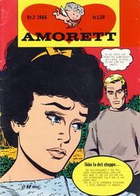 Cover Thumbnail for Amorett (Serieforlaget / Se-Bladene / Stabenfeldt, 1966 series) #2/1966