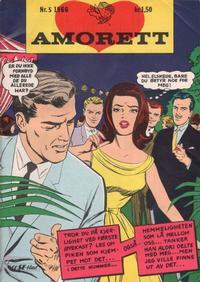 Cover Thumbnail for Amorett (Serieforlaget / Se-Bladene / Stabenfeldt, 1966 series) #5/1966
