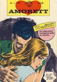 Cover Thumbnail for Amorett (Serieforlaget / Se-Bladene / Stabenfeldt, 1966 series) #1/1967