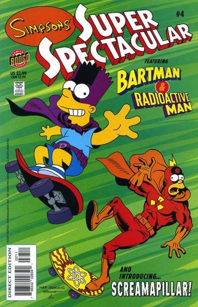 Cover for Bongo Comics Presents Simpsons Super Spectacular (Bongo, 2005 series) #4