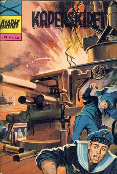 Cover for Alarm (Illustrerte Klassikere / Williams Forlag, 1964 series) #25