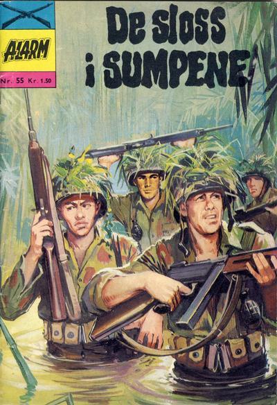 Cover for Alarm (Illustrerte Klassikere / Williams Forlag, 1964 series) #55