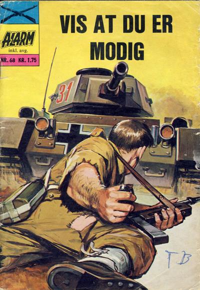 Cover for Alarm (Illustrerte Klassikere / Williams Forlag, 1964 series) #68