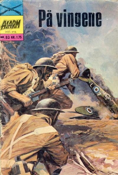 Cover for Alarm (Illustrerte Klassikere / Williams Forlag, 1964 series) #83
