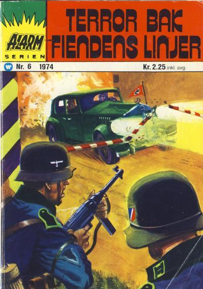 Cover for Alarm (Illustrerte Klassikere / Williams Forlag, 1964 series) #6/1974
