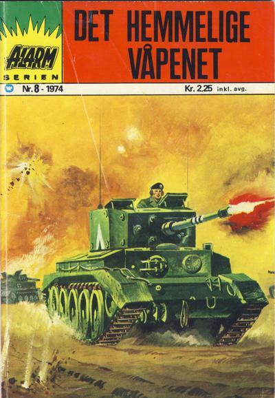 Cover for Alarm (Illustrerte Klassikere / Williams Forlag, 1964 series) #8/1974