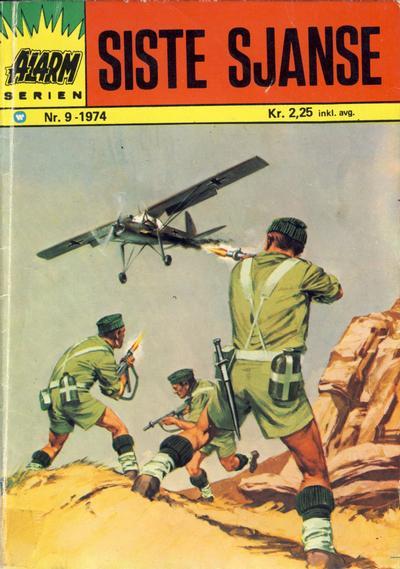 Cover for Alarm (Illustrerte Klassikere / Williams Forlag, 1964 series) #9/1974