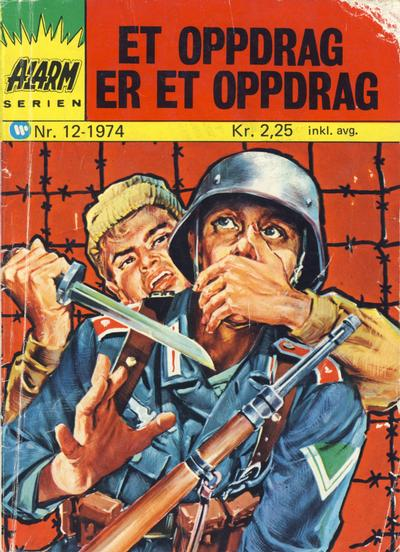 Cover for Alarm (Illustrerte Klassikere / Williams Forlag, 1964 series) #12/1974