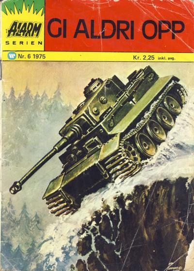 Cover for Alarm (Illustrerte Klassikere / Williams Forlag, 1964 series) #6/1975