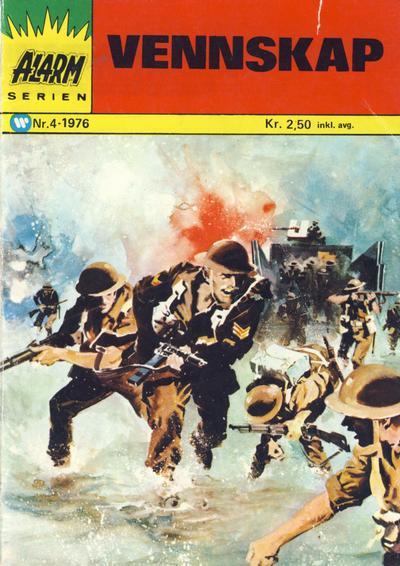 Cover for Alarm (Illustrerte Klassikere / Williams Forlag, 1964 series) #4/1976