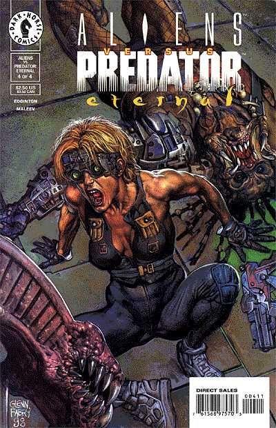 Cover for Aliens vs. Predator: Eternal (Dark Horse, 1998 series) #4