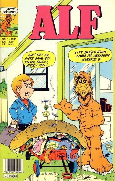 Cover for Alf (Semic, 1988 series) #1/1990