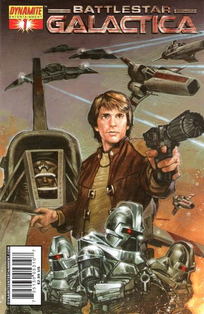 Cover for Classic Battlestar Galactica (Dynamite Entertainment, 2006 series) #1