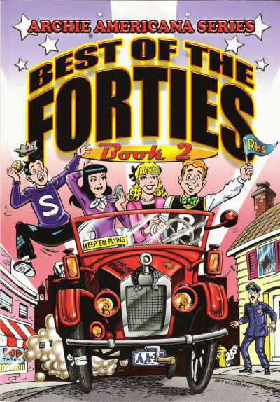 Cover for Archie Americana Series (Archie, 1991 series) #6 - Best of the Forties Book 2