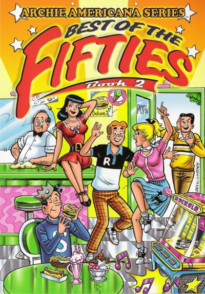 Cover for Archie Americana Series (Archie, 1991 series) #7 - Best of the Fifties Book 2