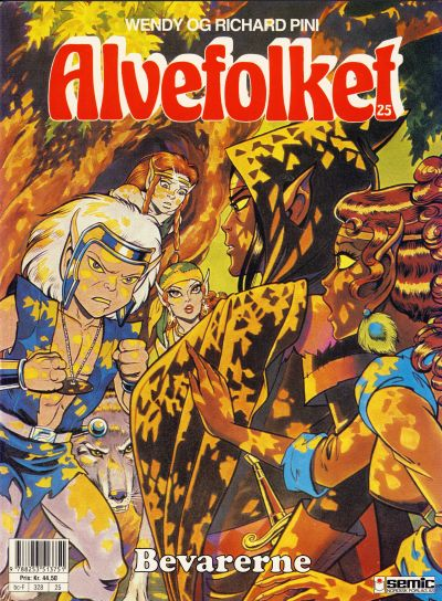 Cover for Alvefolket (Semic, 1985 series) #25 - Bevarerne