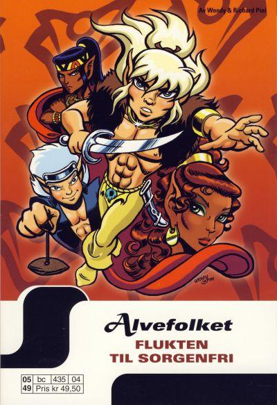 Cover for Alvefolket (Hjemmet / Egmont, 2005 series) #4