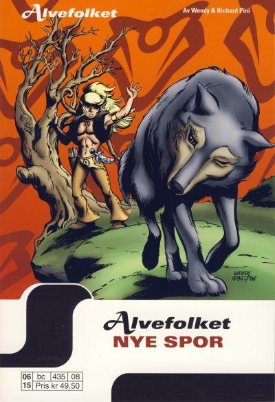 Cover for Alvefolket (Hjemmet / Egmont, 2005 series) #8