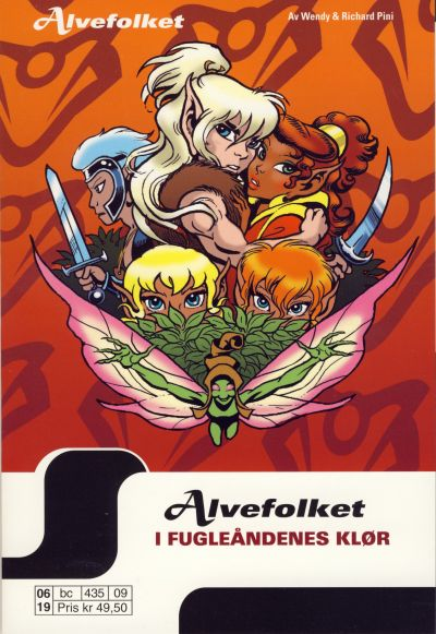 Cover for Alvefolket (Hjemmet / Egmont, 2005 series) #9
