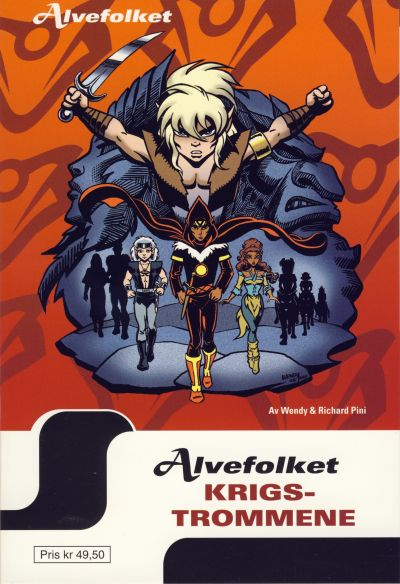 Cover for Alvefolket (Hjemmet / Egmont, 2005 series) #18