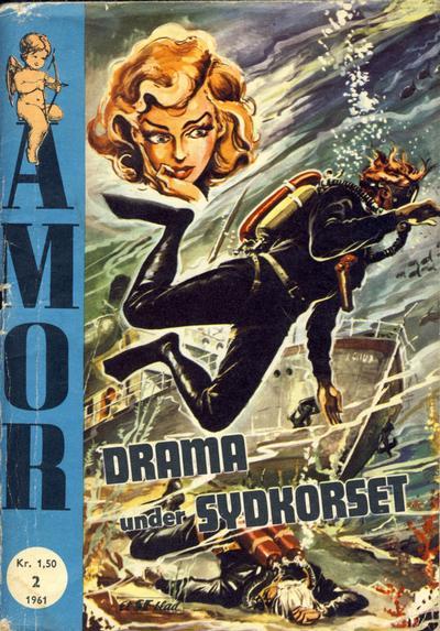 Cover for Amor (Serieforlaget / Se-Bladene / Stabenfeldt, 1961 series) #2/1961