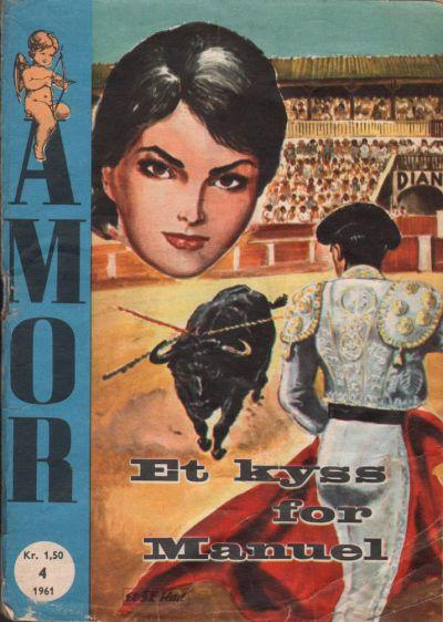 Cover for Amor (Serieforlaget / Se-Bladene / Stabenfeldt, 1961 series) #4/1961