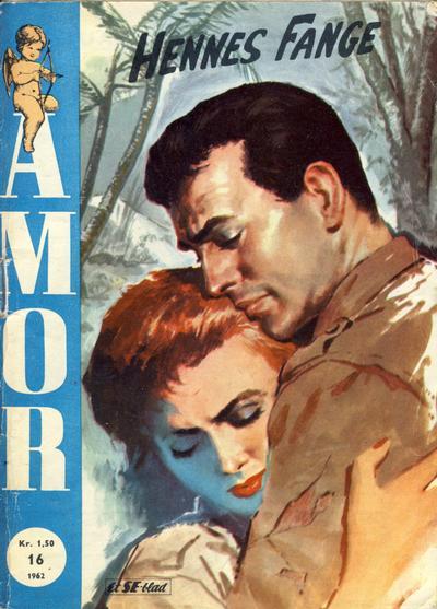 Cover for Amor (Serieforlaget / Se-Bladene / Stabenfeldt, 1961 series) #16/1962