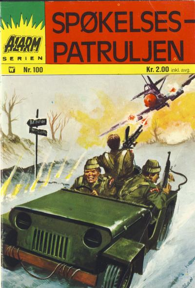 Cover for Alarm (Illustrerte Klassikere / Williams Forlag, 1964 series) #100