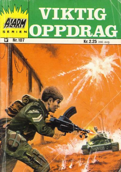 Cover for Alarm (Illustrerte Klassikere / Williams Forlag, 1964 series) #107