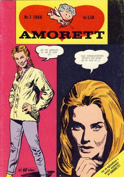 Cover for Amorett (Serieforlaget / Se-Bladene / Stabenfeldt, 1966 series) #1/1966